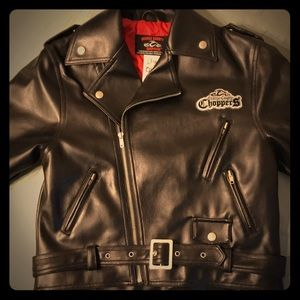 Other - Kids Orange County Choppers Leather Jacket